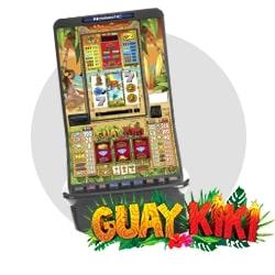 Novedad en máquina recreativa: Guaykiki
