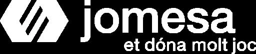 logo de jomesa blanco