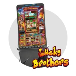 máquina recreativa Lucky Brothers