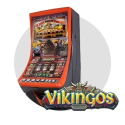 máquina recreativa Vikingos