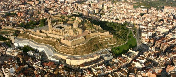 Lleida desde el aire